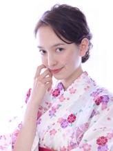 浴衣にピッタリ☆柔らかシニヨン.51