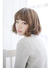 美髪デジタルパーマ/バレイヤージュノーブル/クラシカルロブ/975 Oggi.54