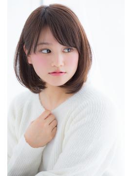 【東 純平】大人かわいい 耳掛け ひし形ボブ