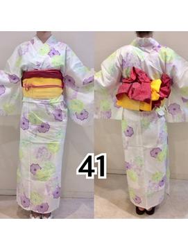 レンタル浴衣【41】