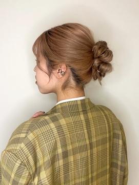 アップ/こなれヘア/20代30代40代/前髪カット/東久留米/アレンジ