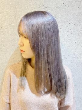 ペールカラー/ペールホワイト/ペールバイオレット/髪質改善