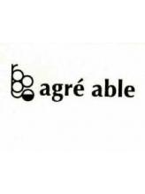 アグレアーブル(agre able)