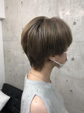 マッシュウルフ#イルミナ#髪質改善