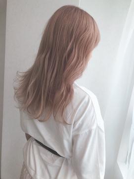 【myonsil】透明感ピンクホワイトラベンダーカラー