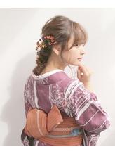 【Neolive &】浴衣×大人可愛いアレンジ.8