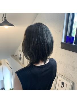 【GIOTTO/大分/大分駅】ハイライトmixスモーキーグレージュ