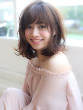 【田村】小顔くびれセミディあざとインナーカラーデジタルパーマ.46