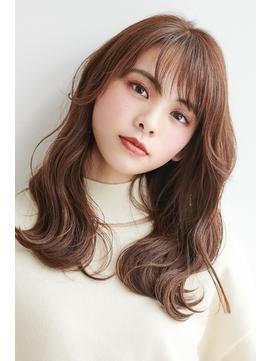 韓国風20代30代40代◎小顔 レイヤー外ハネストレートボブ