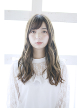 【Lucy 新宿】 大人かわいいグレージュヴェールウェーブ.17