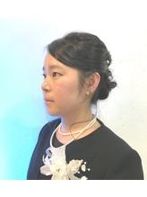 くるりんぱ、編み込みアップスタイル.49