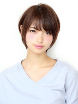 Soleil菊地/前髪大人かわいいセシルカットココアブラウン小顔
