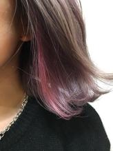 【GOOD DAY HAIR】《インナーカラー×ペールピンク》 下北沢 .22