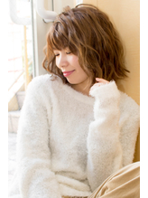 【hair coucou】なみなみウェーブボブ .29