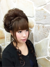 六本木盛り髪スタイル 盛り髪.59