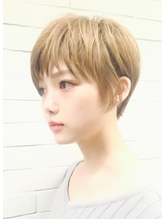 【PHASE/三畑賢人】小顔ベージュ似合わせショート◎ OL.58