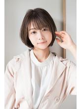 【東 純平】ナチュラル可愛い 小顔 ショートボブ.41