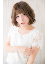 【AGORA銀座】アンニュイ顔が似合う、ナチュリラボブb.56