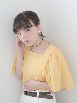 【BELLA】抜け感ボブアレンジ