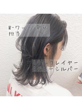 【W-ワット-新宿店*ウルフ×グレーシルバ 担当ヨシナリ