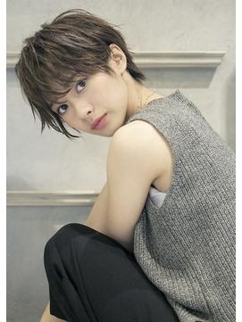【roijir】小顔ハンサムショートx暗髪アッシュ