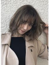 【mod's hair高崎】やわらかウェーブ×透け感N.カラー♪.36
