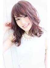 dee 【ノンブリーチ】ミルキーパープルピンク 女子力.16