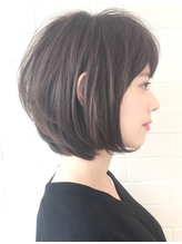 【PHASE/三畑賢人】30代40代50代◎トップ後頭部ふんわりボブ青山 50代.46