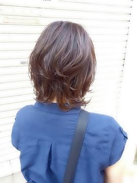 hair sos くびれレイヤースタイル♪似合わせカット。
