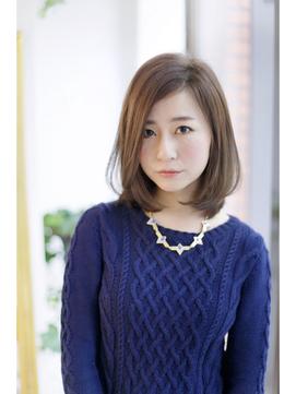 【FORTE】大人気のワンカールボブ♪好感度の高いヘアスタイル