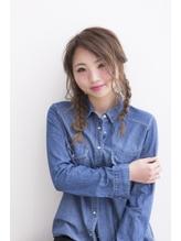【ALX富山下廼裕也】三つ編みヘアアレンジスタイル.2