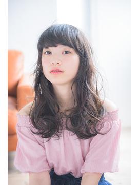 重軽ミックスwaveスタイル【miel hair blanc】