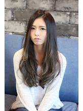 ☆暗髪ハイライトロング☆.48