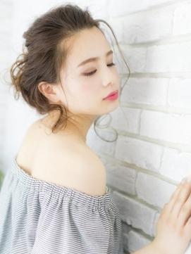 かき上げオリーブカラー無造作外人風カラー【Prize所沢】
