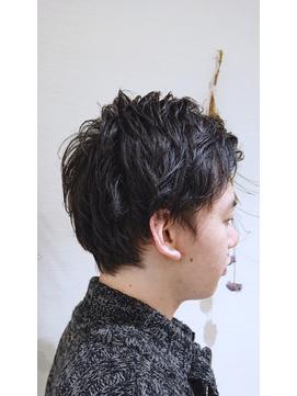 ふんわりパーマショート【Ash大泉学園店  東 知孝】