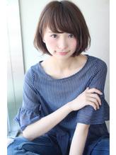 【畑中正敏】フェアリーな簡単ワンカールショートボブ&ロブ かわいい.29