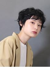 【吉祥寺駅】ショートカット  パーマ ハイライト マッシュ.26