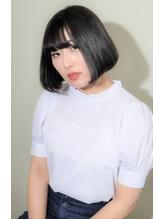 黒髪暗髪×ナチュラルボブ.23