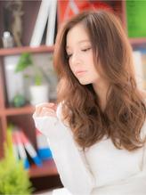 """*+COVER HAIR+*…フリルみたいな♪…""""くびれカールロング""""a くびれカール.34"""