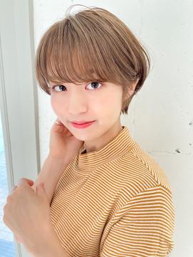 【東 純平】可愛い 小顔マッシュショート