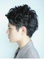 大人の色気漂う黒髪スタイル