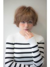 【Divina】ミルクティーカラーxベビーショート 荻野元気 ボディパーマ.24