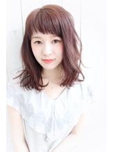 dee オン眉×ピンクブラウン .9