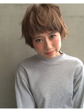 【Lomalia表参道/原宿】☆ おしゃれハネ・感ショート ☆