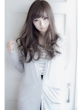 【EIGHT shinjuku】 ☆ランダムカールニュアンスロング☆