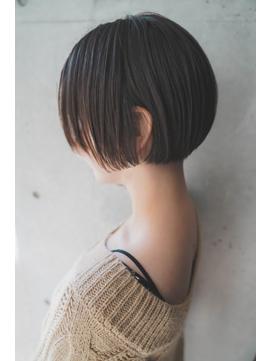 【+~ing 】高円寺ひし形ショート!刈り上げ女子【畠山竜哉】
