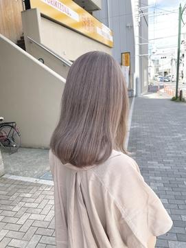 ミルクティーグレージュ/suite店/大坂/ハイトーン/20代