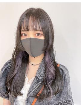 +○姫カット×イヤリングカラー