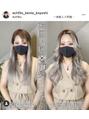 インナーカラー 大人女子 透明感アッシュグレージュ 韓国人風