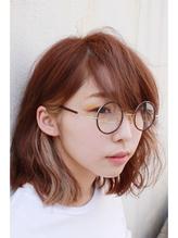 【Ann merry ann】★インナーカラー×ボブ×丸メガネ★ メガネ.15